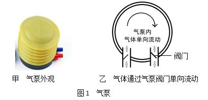图1 气泵