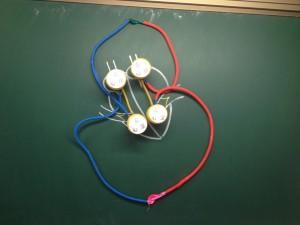 图5  建构完成的肺循环模型